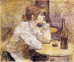 La resaca de Toulouse-Lautrec.