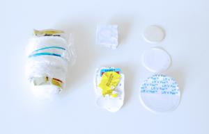 Esta es toda la basura que ha producido en dos meses. (©Trash is for Tossers)
