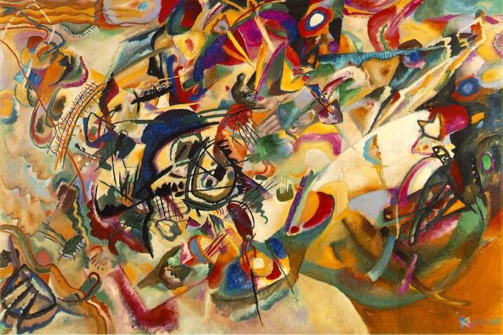 Composition VII (1913) Wassily Kandinsky