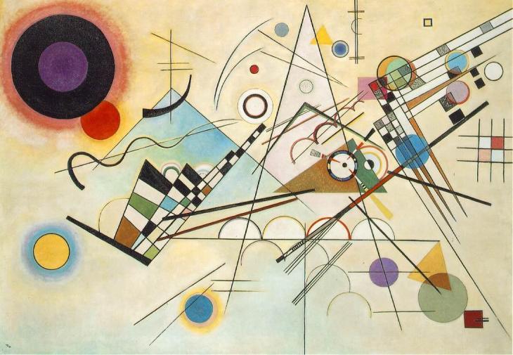 Composition VIII (1923) Wassily Kandinsky