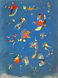 Cielo Azul (1940) Wassily Kandinsky