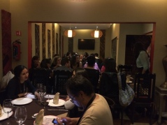 Asistentes a la cena cultural Pakistán en la Ciudad de México