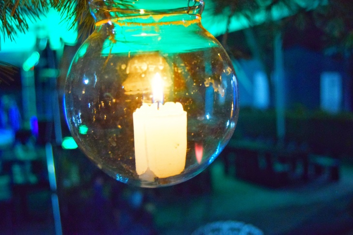 Esfera navideña en Tlalpujahua