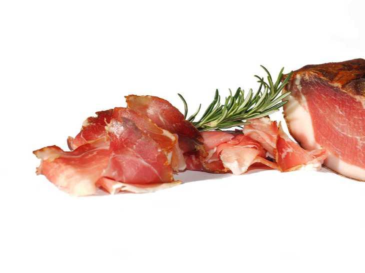 Jamón, ham, carne, embutido, jamón crudo. Foto: Pixabay