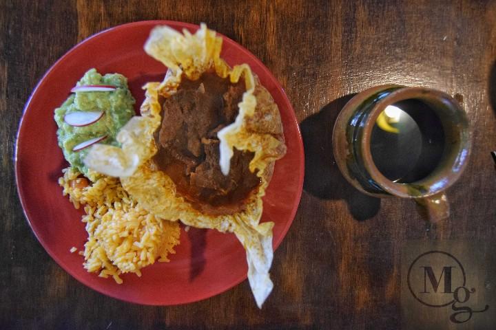 Mixiote de carnero. Tlaxcala. México