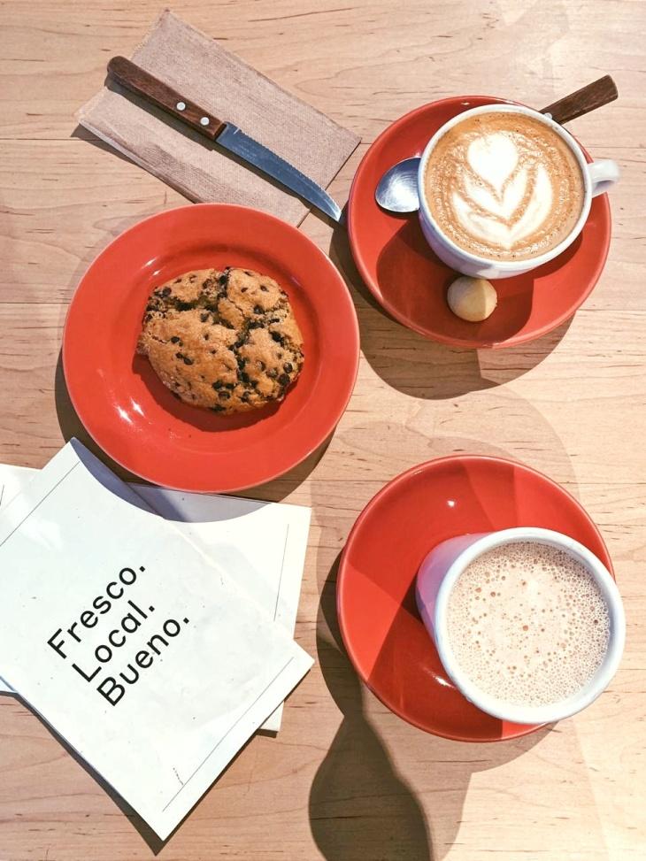 Galletas de chocochips con chai atte - Restaurante Eno de Enrique Olvera