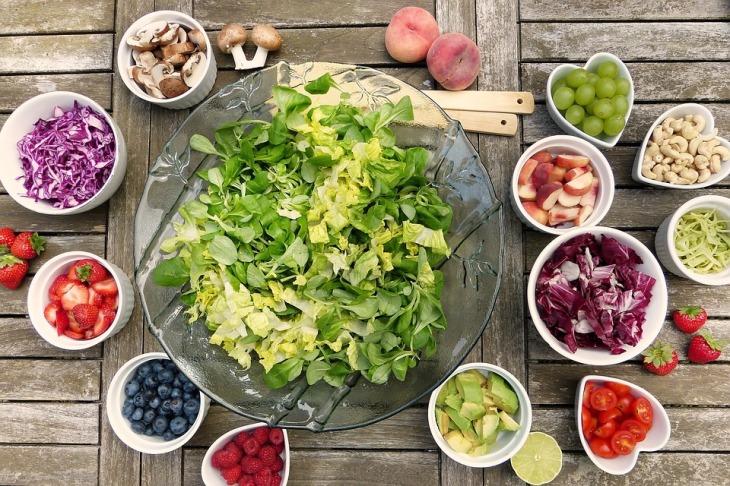 Comida vegatariana