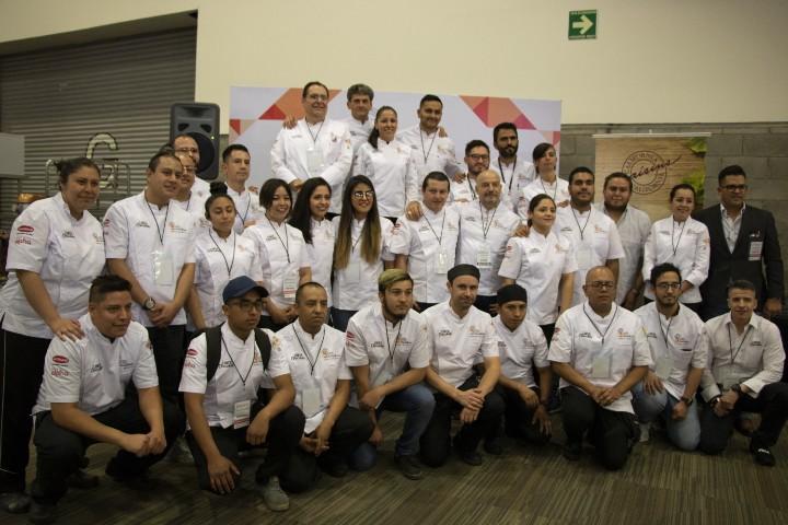 Participantes de la 3era. Edición de la Copa Foodservice de Panadería