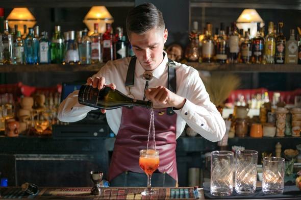 Bartenders residentes: Hanky-Panky